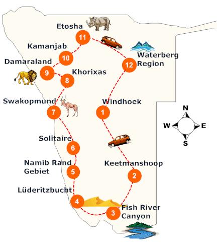 nambia-rundreise-landkarte