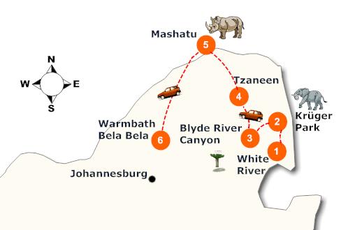 suedafrika-tierwelt-im-norden-landkarte